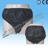 Nonwoven Hospital Medical Disposable Panties, SPA Disposable Underwear Panties Tanga