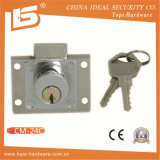 Zinc Furniture & Desk & Cabinet Drawer Lock (CM-24C)