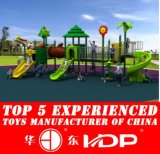 2015 Plastic Outdoor Playground Type Kids Play Slides Equipment (HD15A-030A)