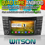 Witson S160 Car DVD GPS Player for Mercedes-Benz E-Class W211 with Rk3188 Quad Core HD 1024X600 Screen 16GB Flash 1080P WiFi 3G Front DVR DVB-T Mirror (W2-M090)