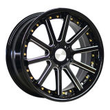 17 Inch 5 Holes Alloy Wheels with Rivets