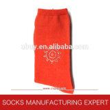 Ladies′ Cotton Diamond Decoratived Socks