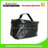 Hot Popular Leather Bucket Lady Black Cosmetic Bag