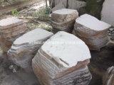 Natural Cut Lava Stone Steppers Random Shape for Patio