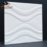 Artistic Decorative 3D Wall Panels Wave Deisgn Self-Adhesive Ceiling