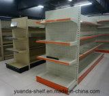 Perforated Display Stand Punching Supermarket Metal Shelf