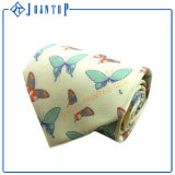 Logo Design Beautiful Butterfly Full Printing Necktie