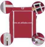Assemble Fabric Storage Cabinet Folding Useful Bedroom Wardrobe
