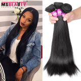 Wholesale Natural Black Brazilian Human Hair Silky Straight Hair Extension