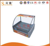 2016 Commercial Stainless Steel 10 Tube Rolling Hot-Dog Grill