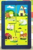 Wooden Farm Animal Moving Wall Game Toy for Kids