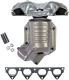 Exhaust Manifold with Integrated Catalytic Converter (673-439) for Honda Civic 2000-96, Honda Civic Del Son 1997-96