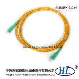 Simplex Sc/APC 3.0mm Fiber Optic Patch Cable for Fiber CATV