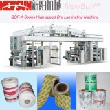 Qdf-a Series High-Speed Adhesive Label Dry Lamination Machine