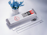 Haiwen 30cm Ruler Hw-R30 Office 30cm Single Ruler High Quality Plastic Ruler