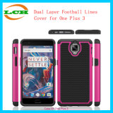 Dual Layer Football Wave Phone Case for One Plus 3