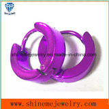 Stainless Steel Classic Style Jewellry Purple Earrings