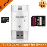 Microsd+SD Card Reader for OTG Lightning iPhone iPad iPod Android (YT-R003)