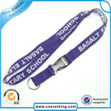 Manufacturer Custom Woven Embroidered Lanyards No Minimum Order