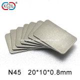 Permanent Sheet Neodymium NdFeB Rare Earth Magnet for Medical Equipment