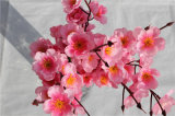 Cheap Fabric Flower Branches Factory Wholesale Artificial Peach Blossom Flower