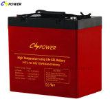 UPS Battery 12V55ah High Temperature Gel, 50% Dod Arrive 1500cycles
