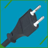 South Africa Hot Sell 2 Slot Polarized Power Cord