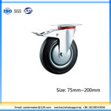 160mm Wheels for Garbage Bins (With Brake)