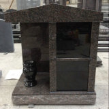 Indian Mahogany 2 Niches Family Cremation Columbarium
