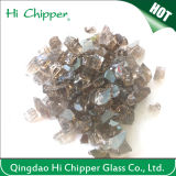 Grey Decorative Fire Pit Glass Chips