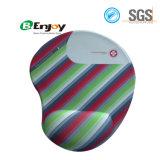 Custom Logo Ergonomic Comfortable Soft Gel Wrist Rest Mouse Pad