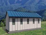 Prefabricated, Steel Structure Modular House (pH-98)