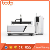 Big Power 500W Metal CNC Fiber Laser Cutting Machine