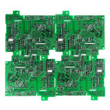 Fr4 2 Layers Double Sided Meter Printed Circuit Board UL RoHS ISO HASL Rigid PCB