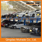 2 Post 2 Floor Double Level Layer Parking Lift System for SUV and Sedan Mechanical Car Garage
