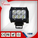 4 Inch 18W CREE Straight Double Row LED Light Bars
