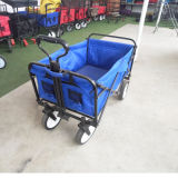 Convenient Outdoor Folding Wagon for Shopping/ Camping