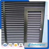 Economic Exterior Architectural Aluminium Fixed Sun Louver Shutter / Steel Louver