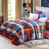 Hot Sale Super Soft Printed Flannel Blanket Coral Fleece Blanket (SR-B170318-4)