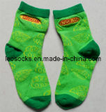 OEM Socks Exporter Embroidery Cotton Children Socks