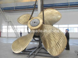 Giant Nickel Aluminum Bronze Propeller (4500MM diameter)