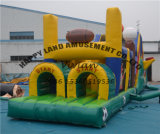 All Star Theme Outdoor Toy Inflatable Obstacle Course
