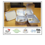 Take Away with Cardboard Lid Aluminium Foil Food Container