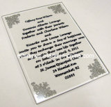 Glass Wedding Invitation (GW-1101)
