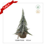 21cm Artificial Green PE Christmas Tree Home Decor Christmas Craft