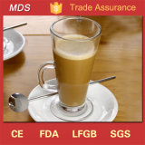 Hot Bulk Irish Latte Glass Coffee Mug with Handle