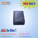 Real Time OBD II GPS Vehicle Tracker Tk218 Support Can-Bus, Window Close, Car Alarm (WL)