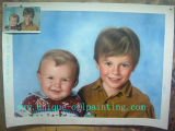 Oil Painting, Portrait Oil Painting, Custom Oil Painting (UN-G1001)