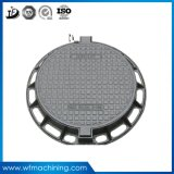 OEM Iron Foundry Sand Casting Manhole Cover with Ductile Iron