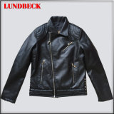 Best Sell Black PU Jacket for Women Wear